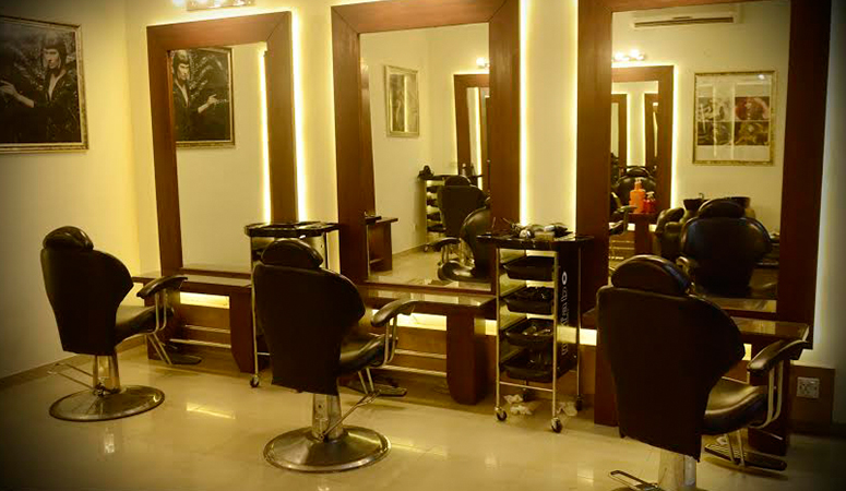 For new fresh hair! 63% OFF, Rs 4999 Only for Highlights/Lowlights /Ombré/Sombré + Full Hair Dye + Haircut with Hair Wash + Deep Conditioning Hair Protein Treatment or Shine Booster Hair Treatment + Blow Dry + Head & Shoulders Massage + Hands & Feet Massage + Threading (Eyebrows & Upper Lip) By Saba Bridal Salon & Spa, Lahore.