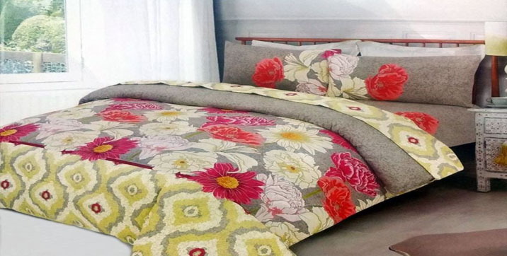 4 Pieces (Filled) Quilt Cover Set