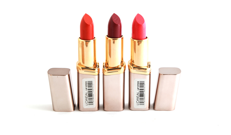 Pack Of 6 Loreal Lipsticks