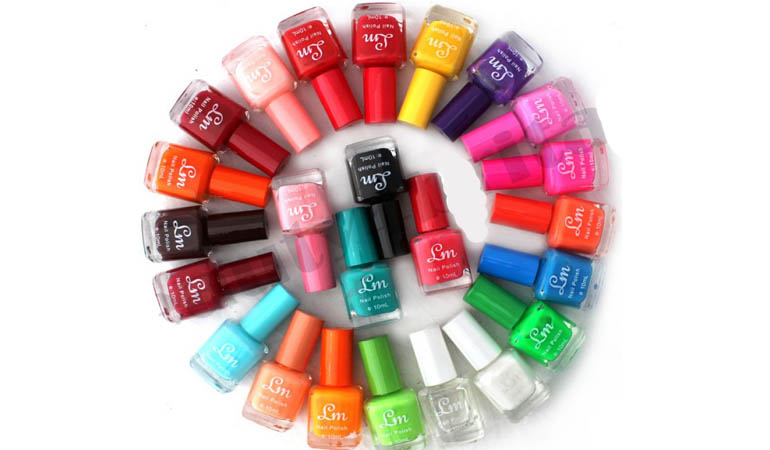 Pack of 24 Branded Nail Polishes for Her